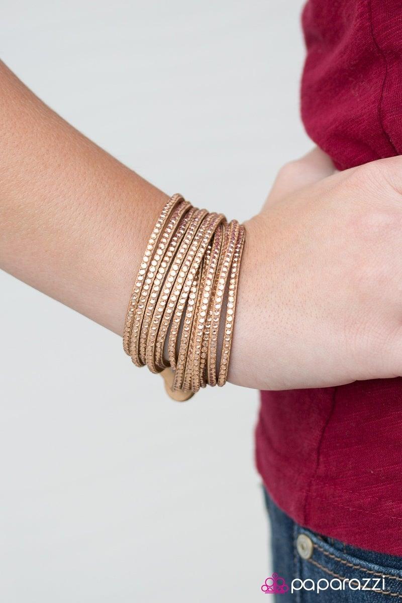 Do The Hustle - Brown bracelet