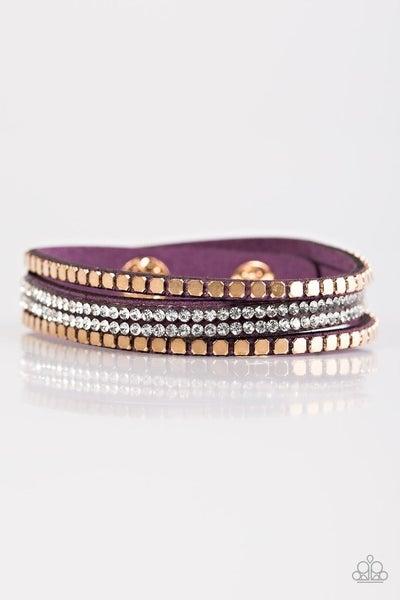 Bomb Squad - Purple bracelet