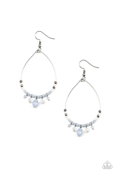 Exquisitely Ethereal - Blue Earring