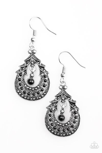 Holi - Black Earring