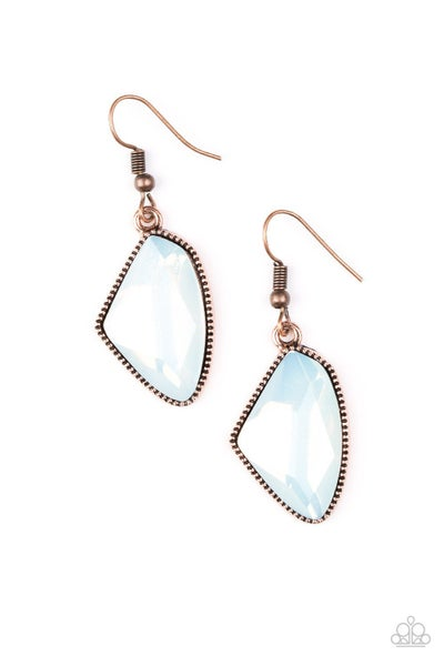 Mystic Mist - Copper Earring