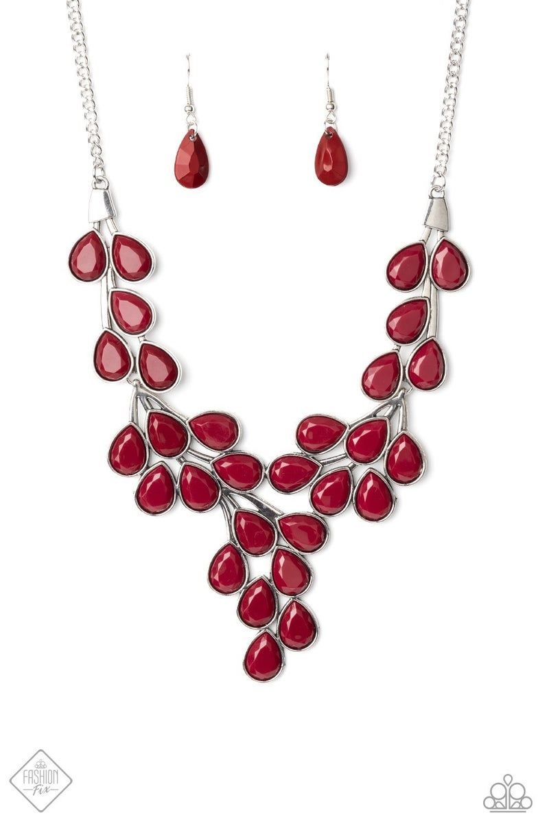 Eden Deity - Red Necklace