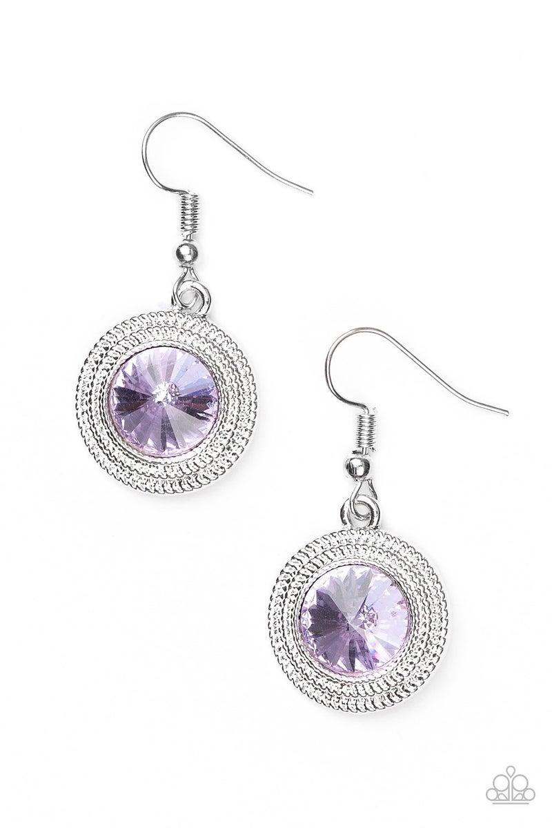 Beginners LUXE - Purple Earring