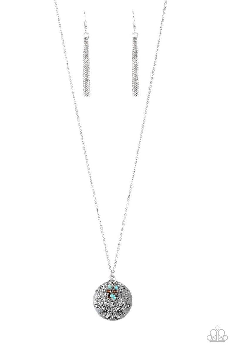 Desert Abundance - Blue Necklace