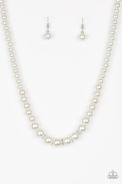 Royal Romance - White Necklace