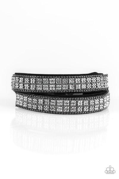 Rock Band Refinement - Black Bracelet