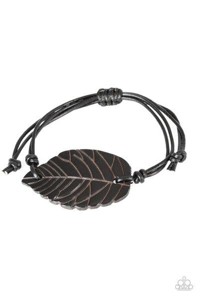 Forest Forager - Black Bracelet