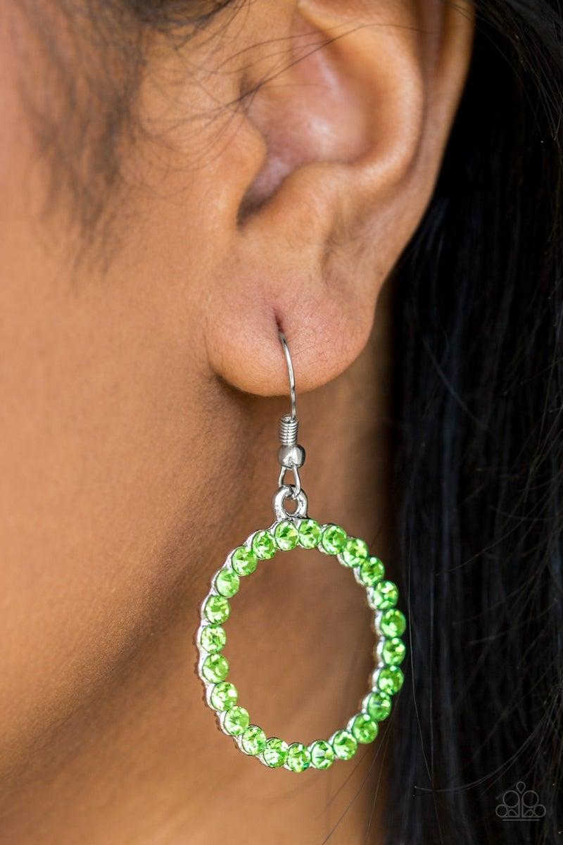 Bubblicious - Green Necklace