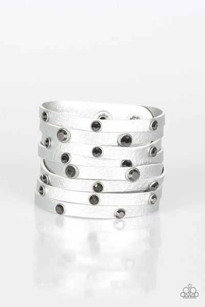 Go-Getter Glamorous - Silver Bracelet