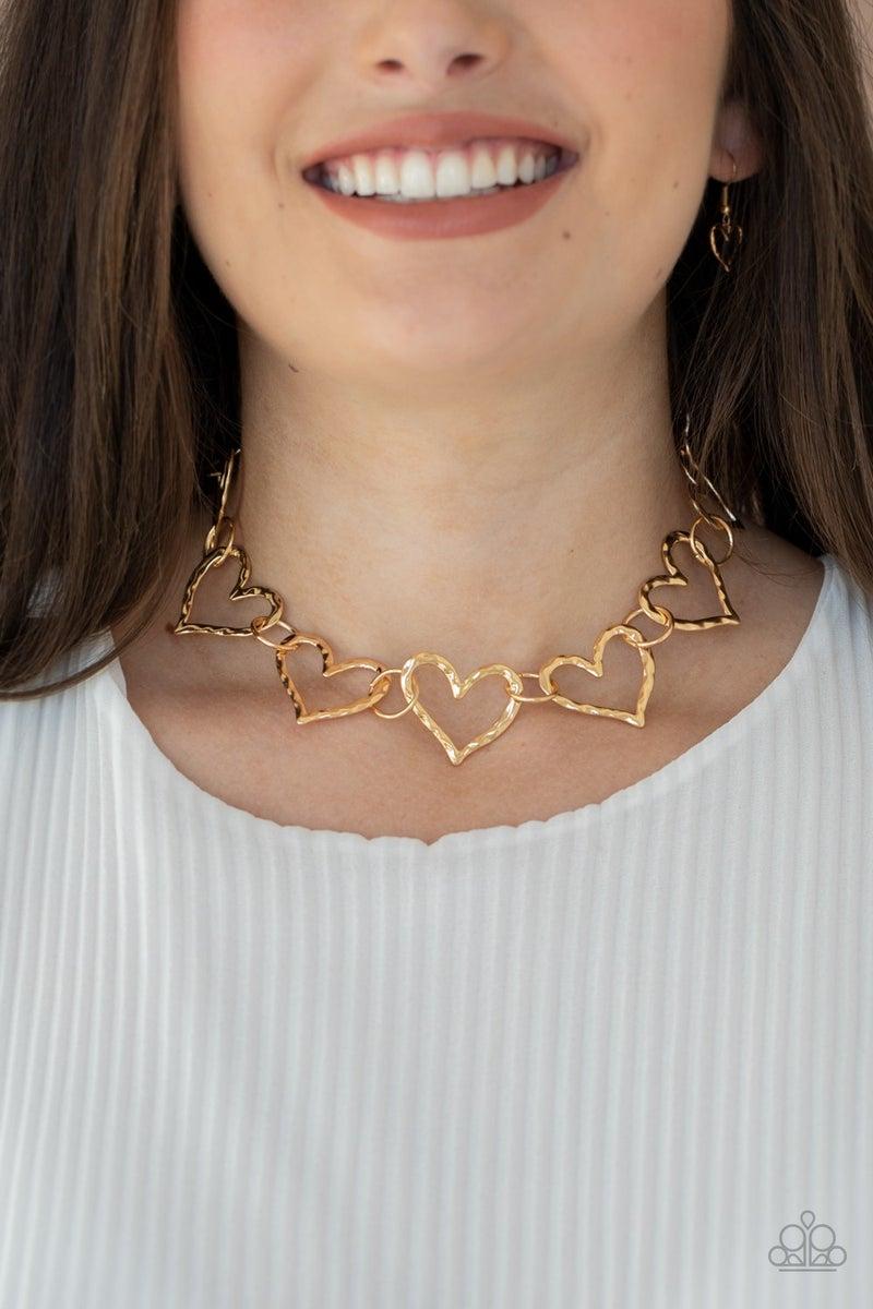 Vintagely Valentine - Gold