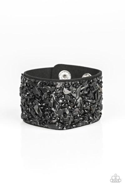 Crush Rush - Black Bracelet