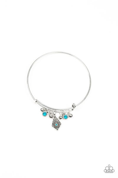 Treasure Charms - Blue bracelet