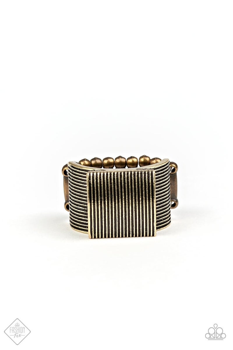 In GRATE Measure - brass ring