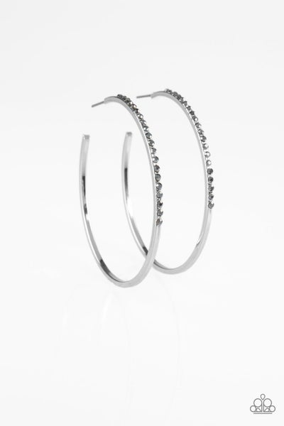 Make The FIERCE Move - Silver Earring