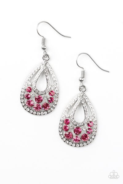 Sparkling Stardom - Pink Earring