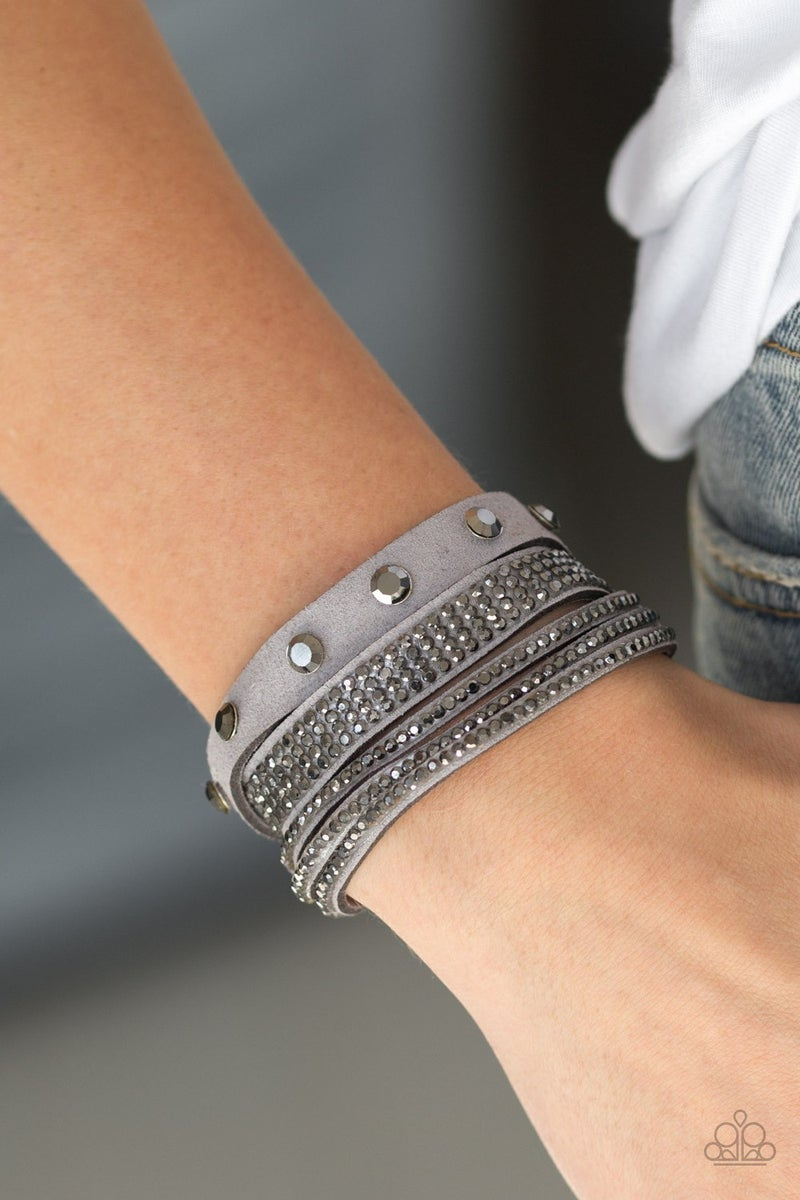 Totally Rockable - Silver Bracelet