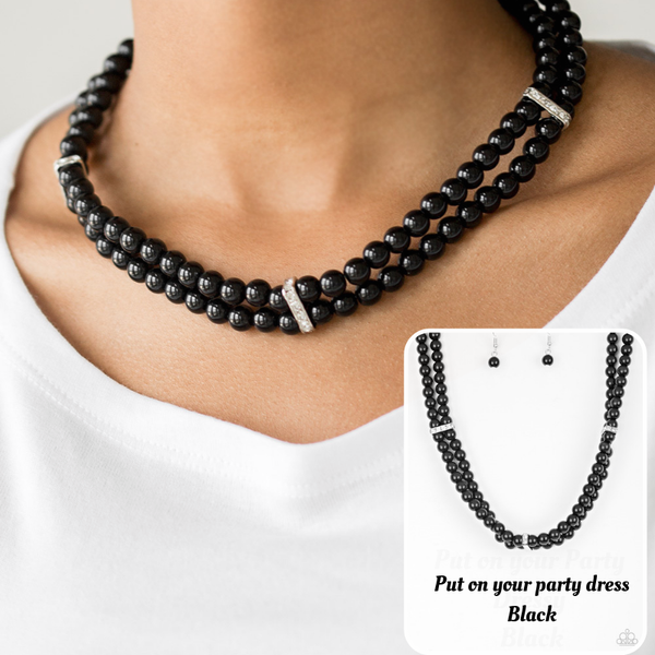 Put On Your Party Dress - Black
