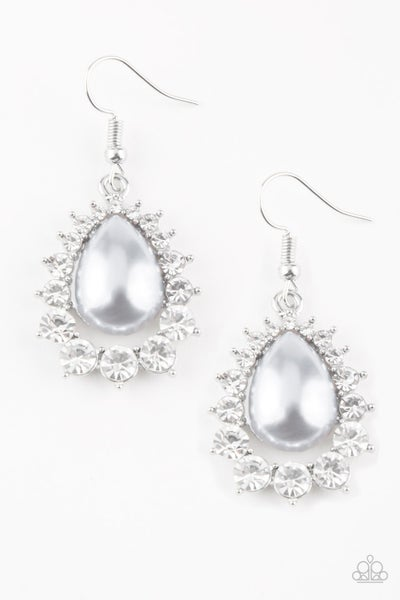 Regal Renewal - Silver Earring