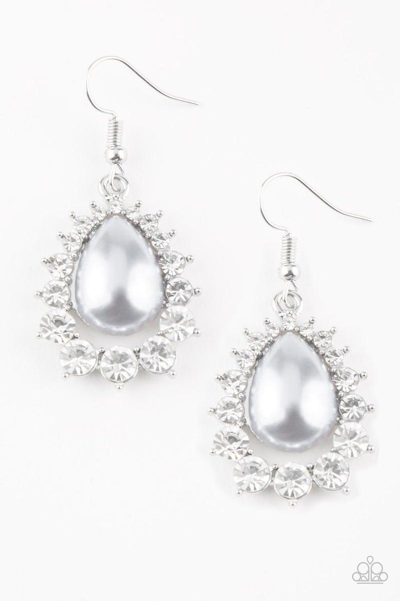 Regal Renewal - Silver Earring