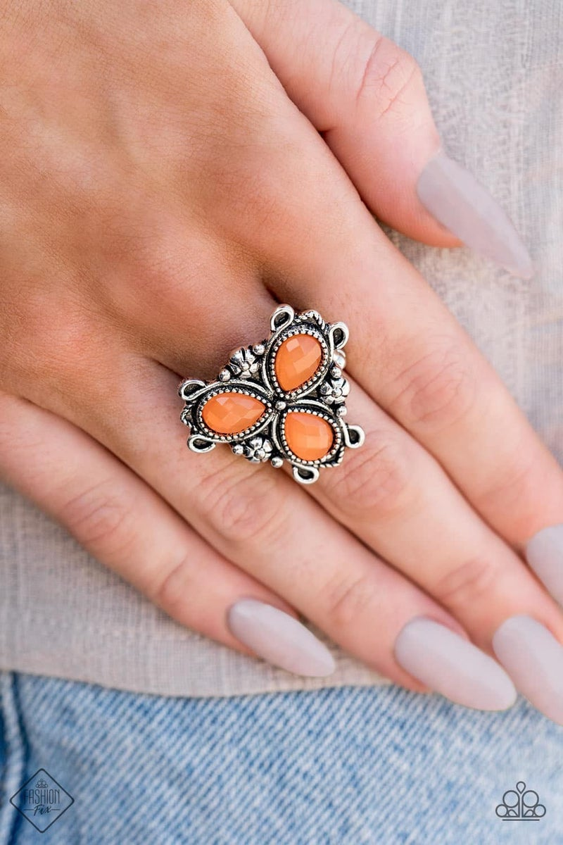 Ambrosial Garden - Orange Ring