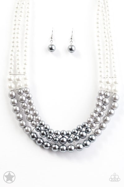 Lady In Waiting - Silver Necklace