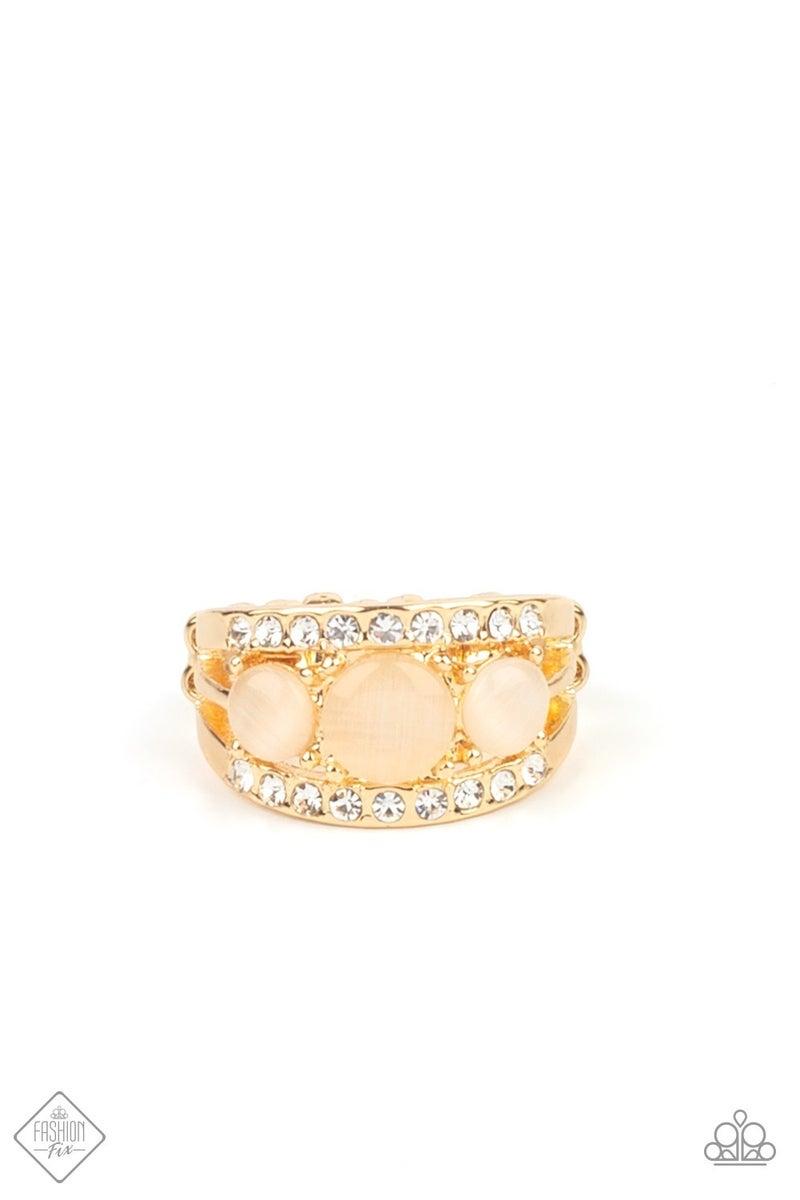 Majestically Mythic - Gold Ring