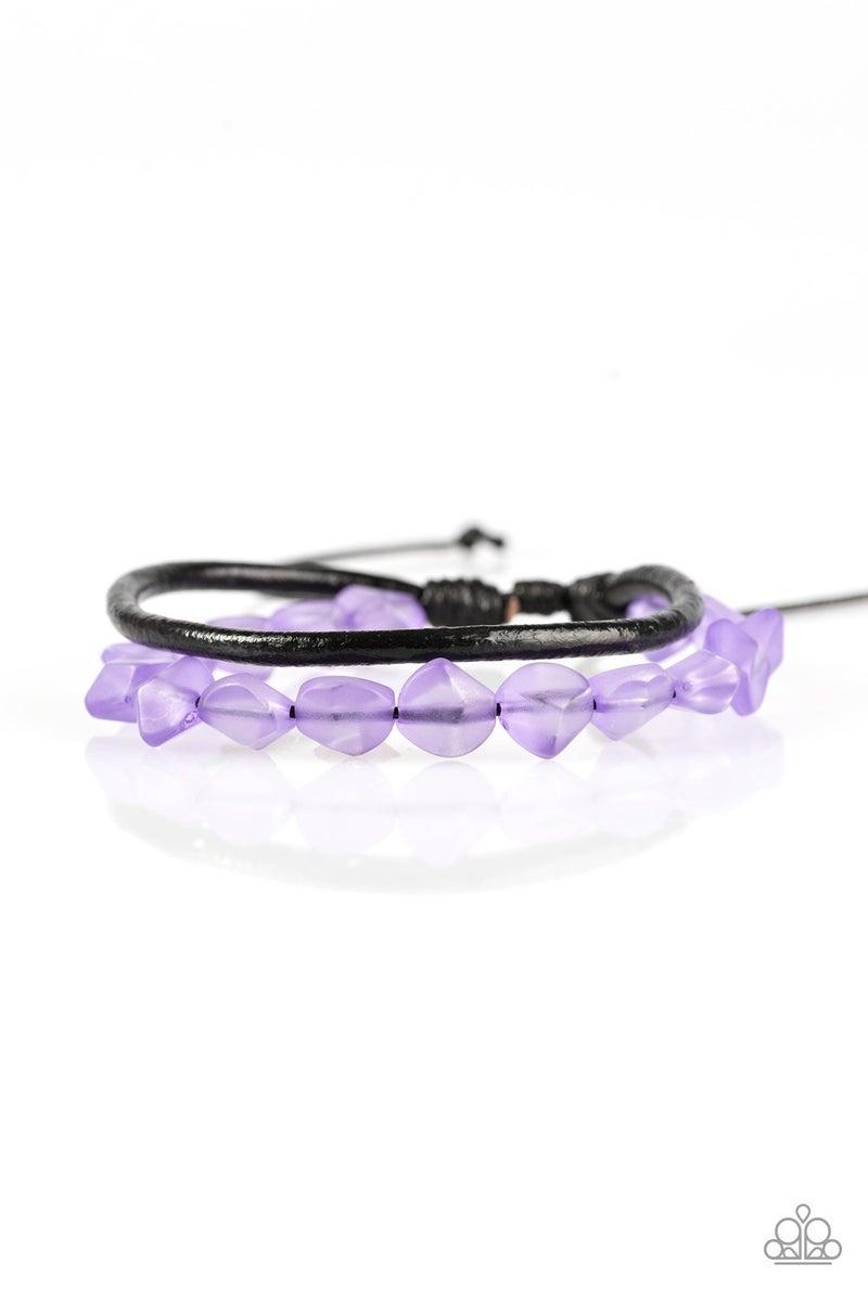Treasure Trail - Purple Bracelet