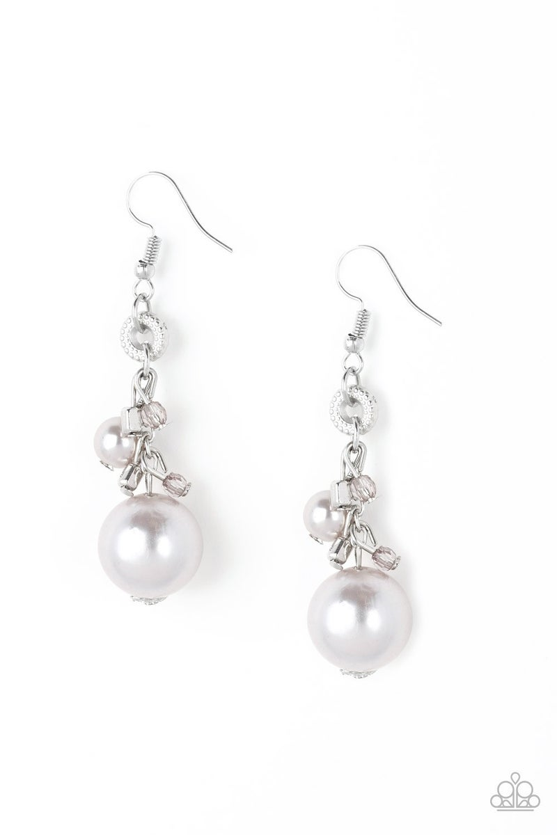 Timelessly Traditional - Silver Earring