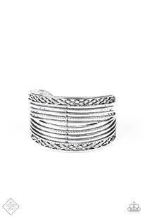 Brace Yourself - Silver Bracelet