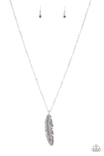 Soaring High - Silver Necklace
