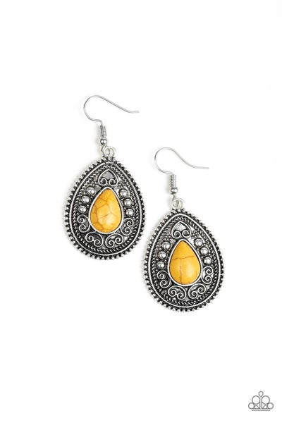 Desert Nirvana - Yellow Earring