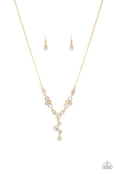 Five-Star Starlet - Gold Necklace