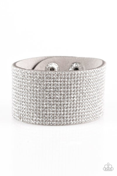 Roll With The Punches - Silver Bracelet