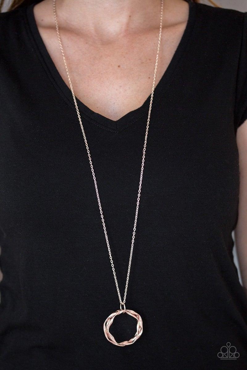 Millennial Minimalist - Rose Gold Necklace