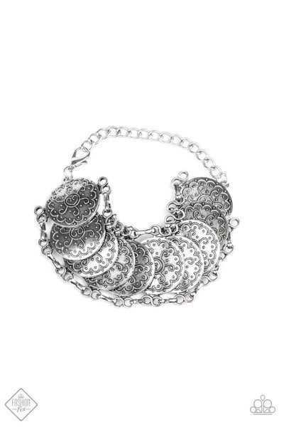 Tribal Treasure Trove - silver bracelet