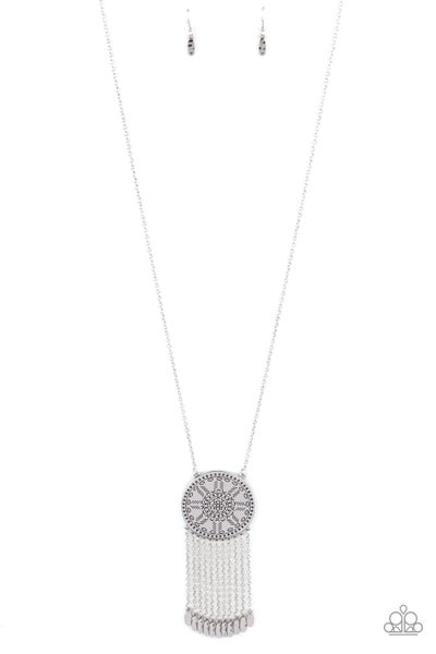 Natures Melody - Silver Necklace