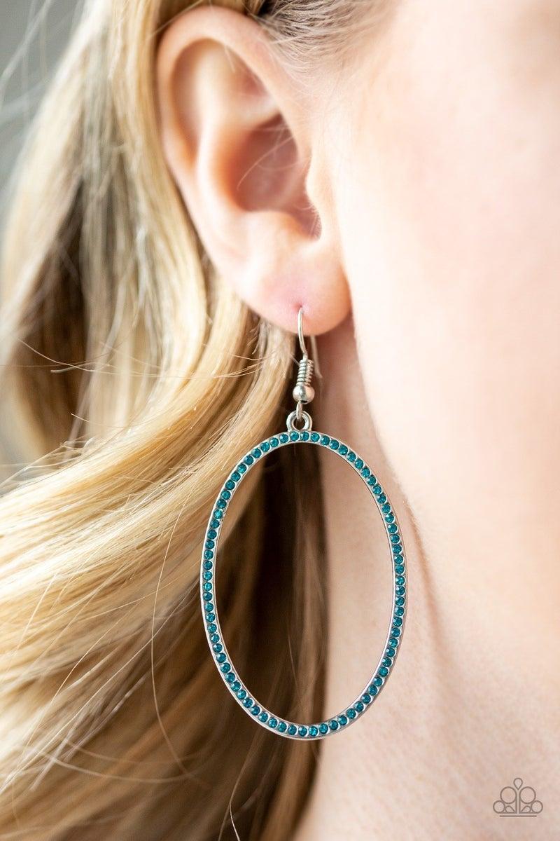 Dazzle On Demand - Blue Earring