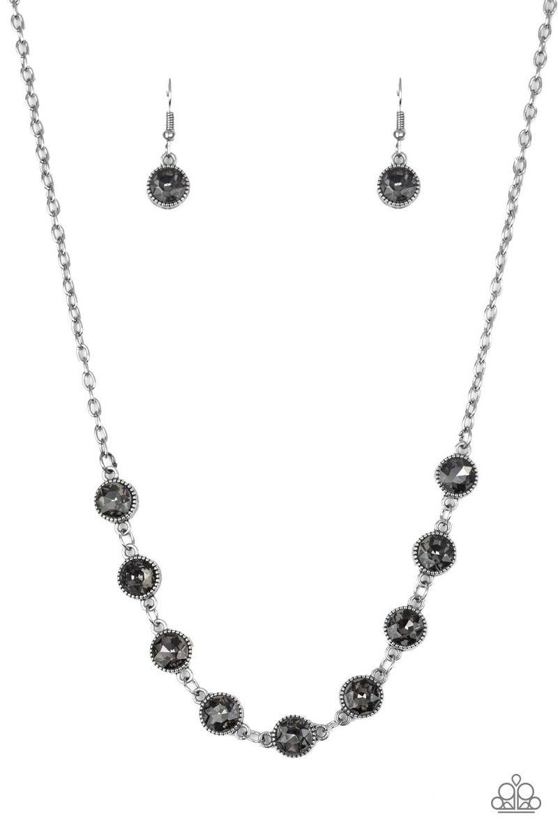 Starlit Socials - Silver necklace