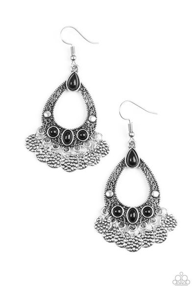 Island Escapade - Black Earring
