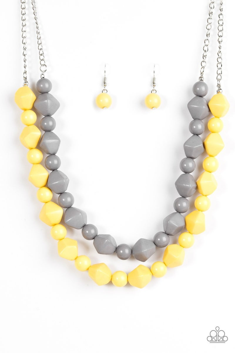 Rio Rhythm - Yellow Necklace