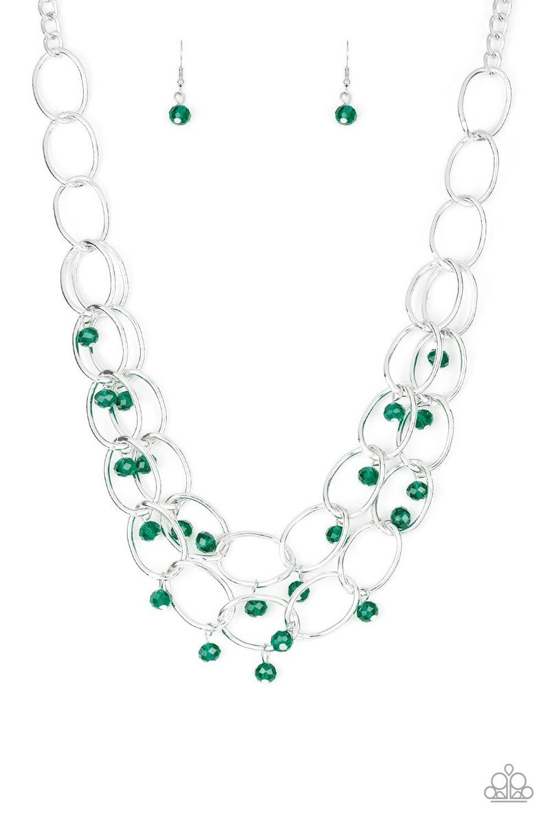 Yacht Tour - Green Necklace