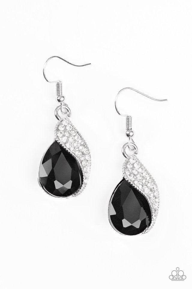 Easy Elegance - Black earring