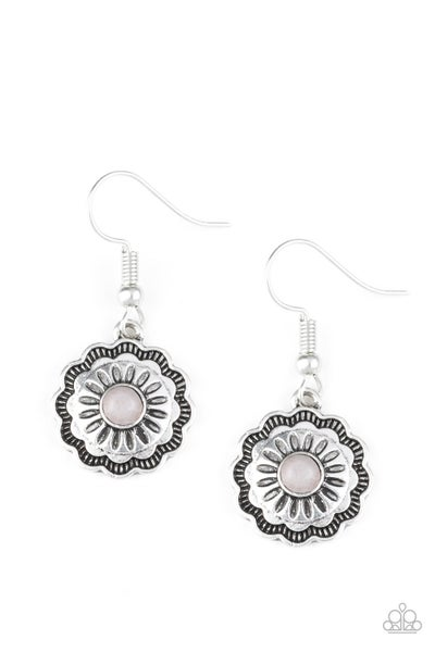 Badlands Buttercup - Silver Earring