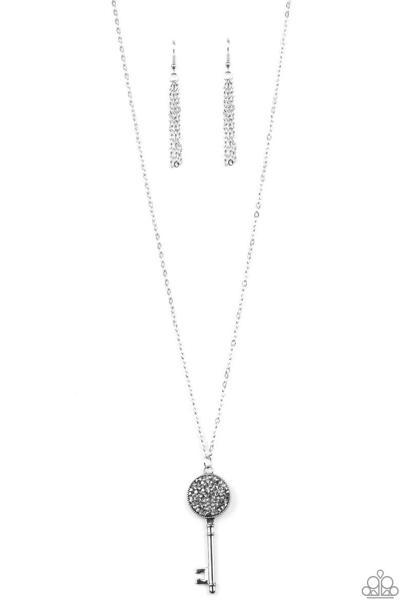 Key Keepsake - Silver Necklace