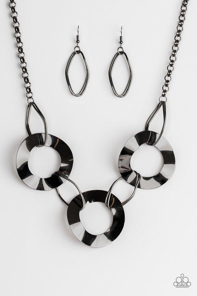 Modern Mechanics - Black Necklace