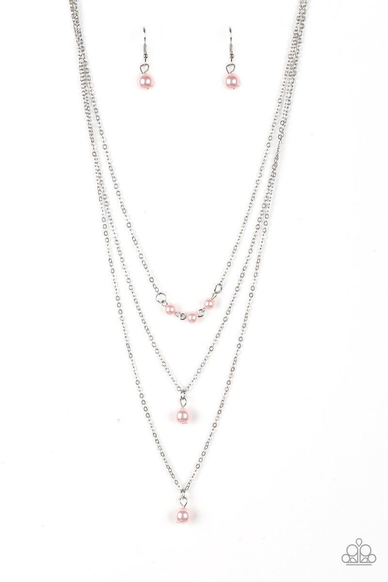 High Heels and Hustle - Pink necklace