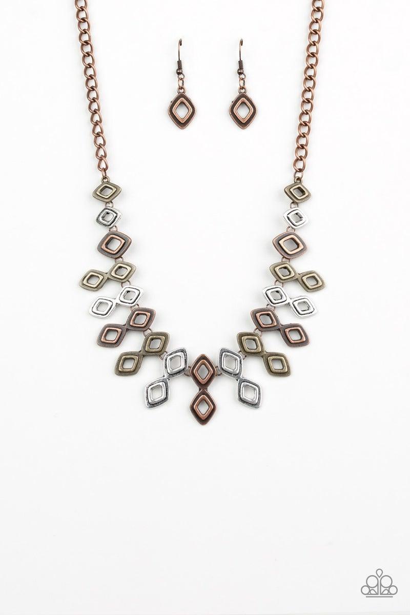 Geocentric - Multi Necklace