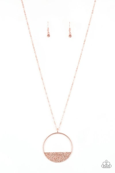 Bet Your Bottom Dollar - Copper Necklace