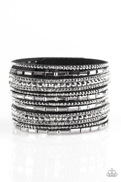 Wham Bam Glam - Hematite Bracelet