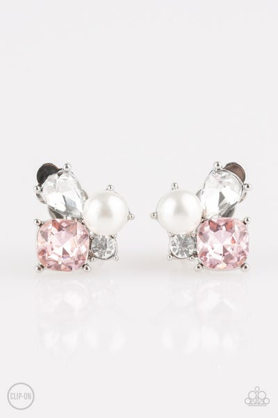 Highly High-Class - Pink Earring